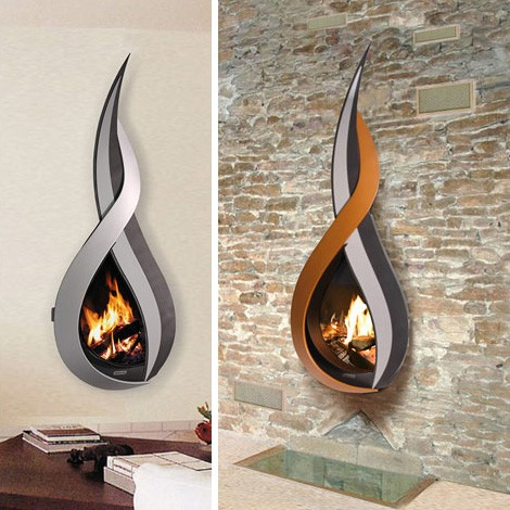 arkiane fireplace yan li 1 Wall mount Fireplace from Arkiane   new Icoi (Icoya) and Yan Li