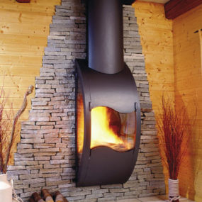 Modern Fireplace – Gaia from Arkiane – a decorative fireplace for every modern home