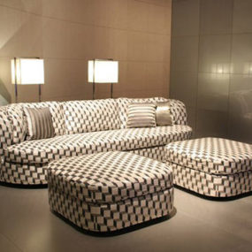 Armani Casa Furniture by Giorgio Armani – the Turandot sofa