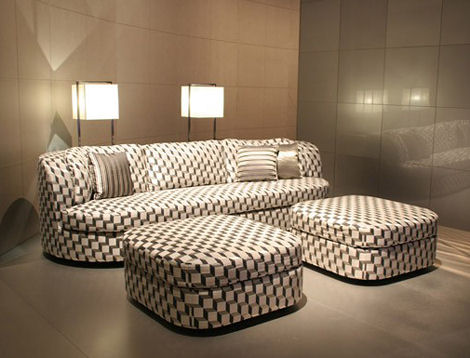 armani casa turandot furniture Armani Casa Furniture by Giorgio Armani   the Turandot sofa