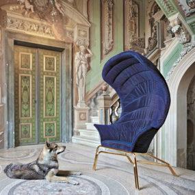 Modern Throne Chair – Queen by Smania