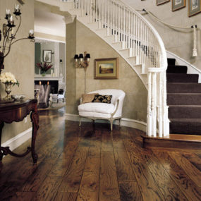 Antique Red Oak flooring by Armstrong – the Rockwell Plank collection of Wide Plank Engineered wood floors