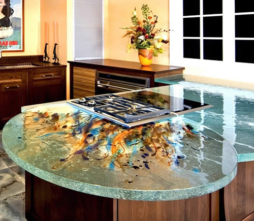 Beau Art Glass Countertops By ThinkGlass