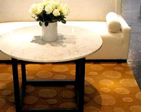 Custom luxury area rugs by Art Rug – the Pebble rug design