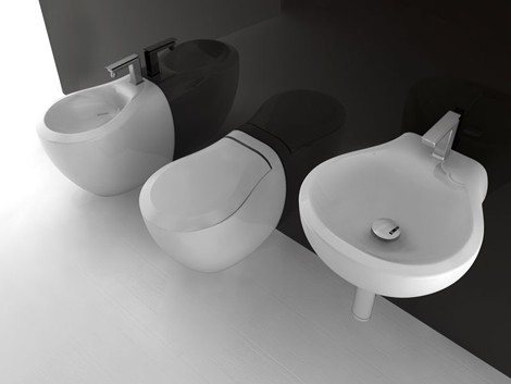 artceram bathroom ceramic blend 1 Modern Bathroom Fixtures from Artceram   the new Blend