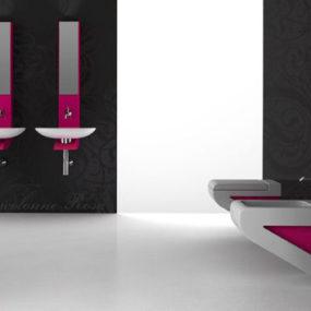 Contemporary bathroom from ArtCeram – the new La Fontana bathroom