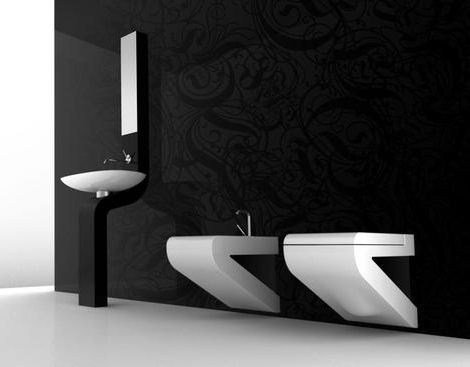 artceram la fontana italian bathroom Contemporary bathroom from ArtCeram   the new La Fontana bathroom