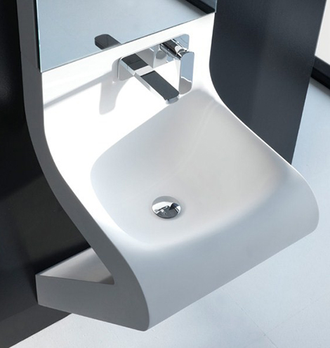 Wash Basin Designs - new Wave washbasin by ArtCeram with ...