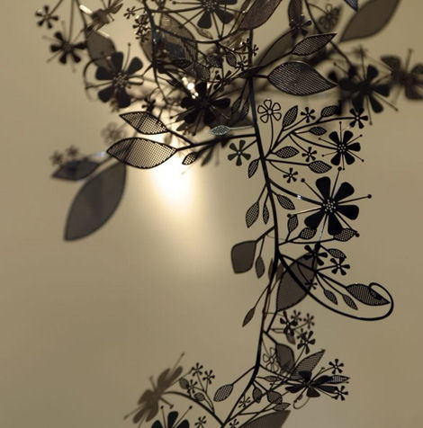 artecnica garland light black chrome Decorative Lighting from Artecnica   the Garland Light