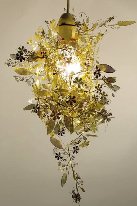 artecnica garland light brass Decorative Lighting from Artecnica   the Garland Light