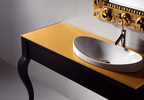 artelinea metafora vanity sink Artelinea Vanity   new Metafora classy two legged vanity