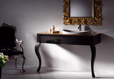 artelinea metafora vanity Artelinea Vanity   new Metafora classy two legged vanity