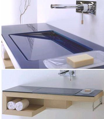 artelinea technica%20collection Artelinea Technica console sink   the tilting hidden sink