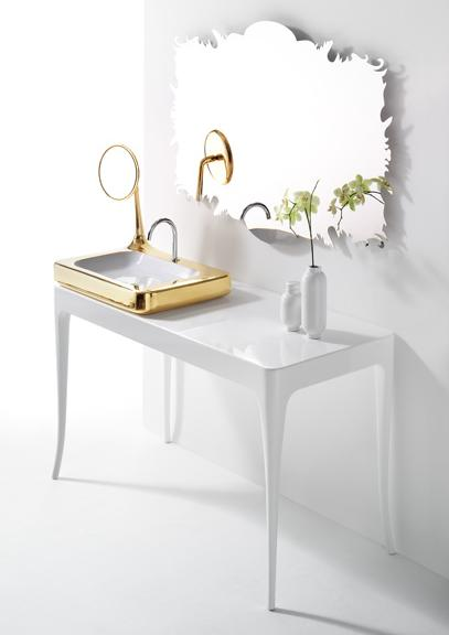 artquitect hayon bathroom collection gold