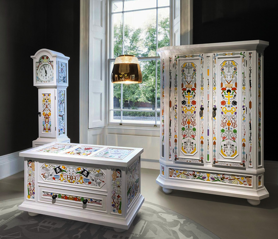 Perfect Arts And Crafts Style Furniture By Moooi