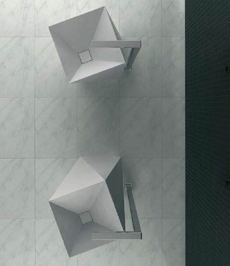 Artceram Sharp washstand - top view