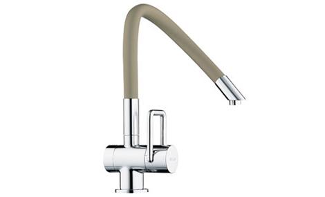 arwa faucet twinflex 2 Contemporary Kitchen Faucet from Arwa   Arwa Twinflex faucet