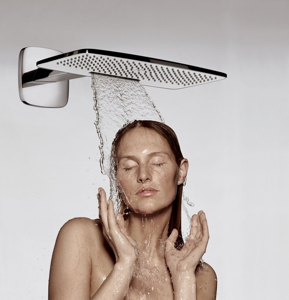 Hansgrohe Raindance E 420 Showerhead With 2 Air Jets