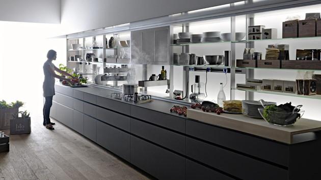 new logica kitchen system by valcucine kitchens 1 thumb 630x354 9026 Logica Kitchen System by Valcucine