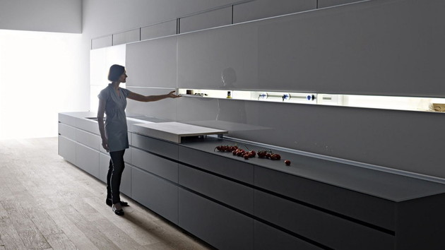 new logica kitchen system by valcucine kitchens 2 thumb 630x354 9028 Logica Kitchen System by Valcucine