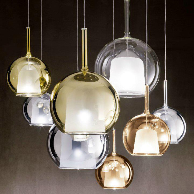 italian globe pendant lights from penta glo 1 thumb 630x630 10024 Italian Globe Pendant Lights from Penta: GLO