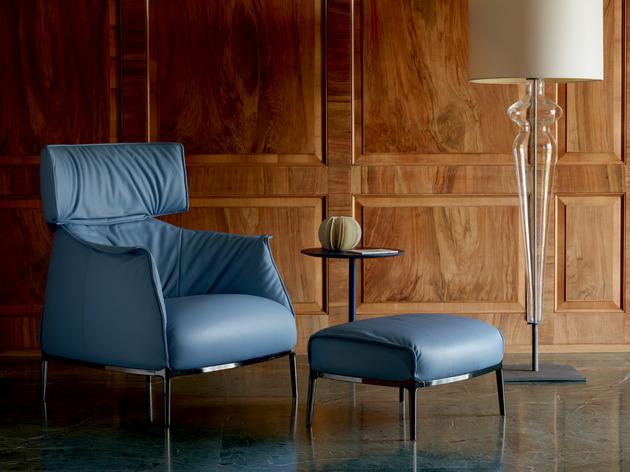 new archibald king armchair from poltrona frau 1 thumb 630x472 10193 Archibald King armchair from Poltrona Frau