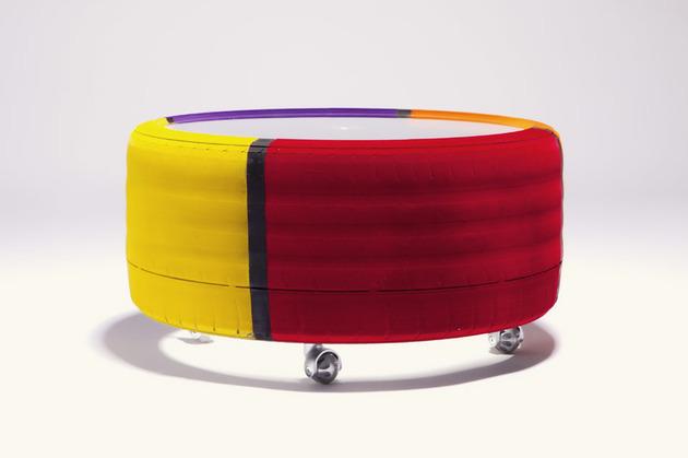 tire table from tavomatico 1 thumb 630x419 11595 Tire table from Tavomatico defines Body Shop Chic