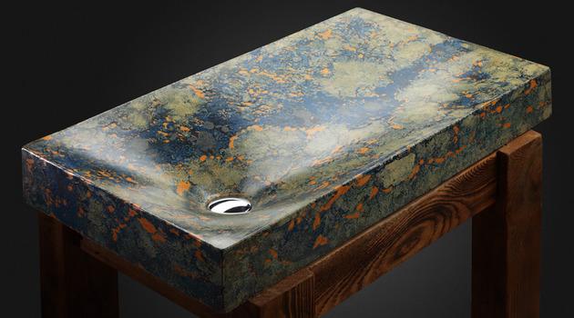 pietra danzare concrete sinks 1 thumb 630x350 14091 Handcrafted Concrete Sinks from Pietra Danzare