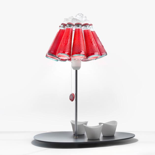 campari bar table lamp by ingo maurer 1 thumb 630x630 16778 Campari Bar Table Lamp by Ingo Maurer