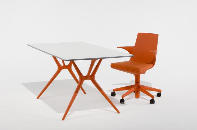 folding trestle desk spoon kartell 1 thumb 630x418 15945 Folding Trestle Desk Spoon by Kartell