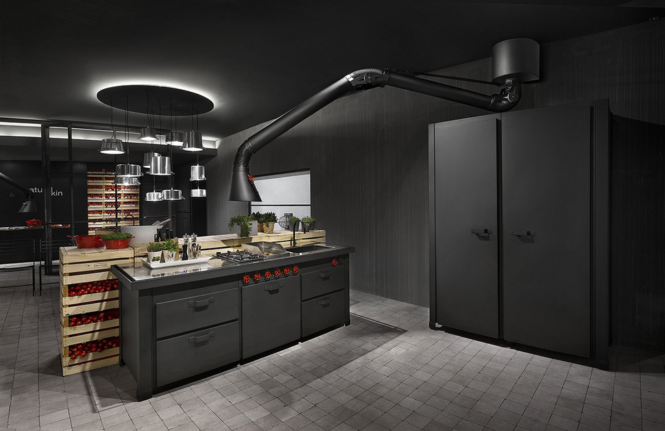 Merveilleux View In Gallery Futuristic Extractor Hood Mammut For Mina Kitchen By  Minacciolo 2 Thumb 630x408 17796 Futuristic Extractor Hood