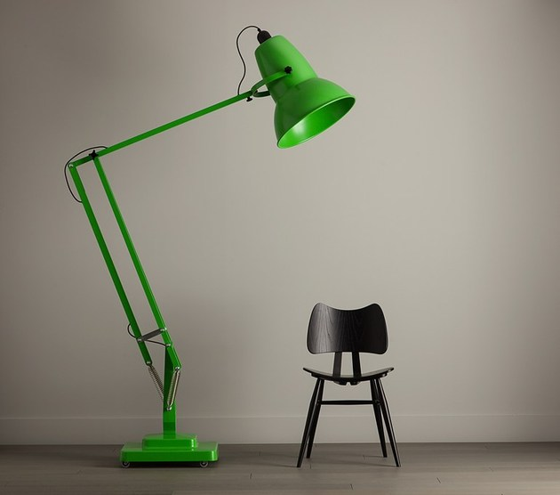 giant lamp green thumb 630x556 14892 Giant Adjustable Floor Lamp with Dimmer by Anglepoise