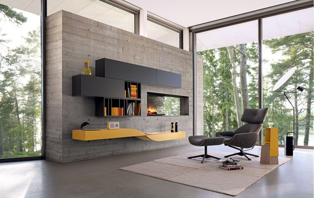 itralitin contemporary modular wall unit from roche bobois 1 thumb 630x398 17190 Intralatin Contemporary Modular Wall Unit from Roche Bobois