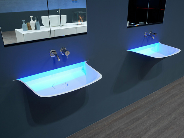 led illuminated sink breath antonio lupi 2 thumb 630x472 14508 LED Illuminated Sink Breath from Antonio Lupi