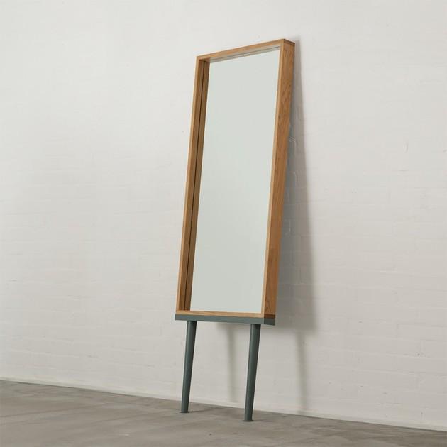 modern floor standing mirrors on legs in oak 2 thumb 630x630 16572 Modern Floor Standing Mirrors on Legs in Oak