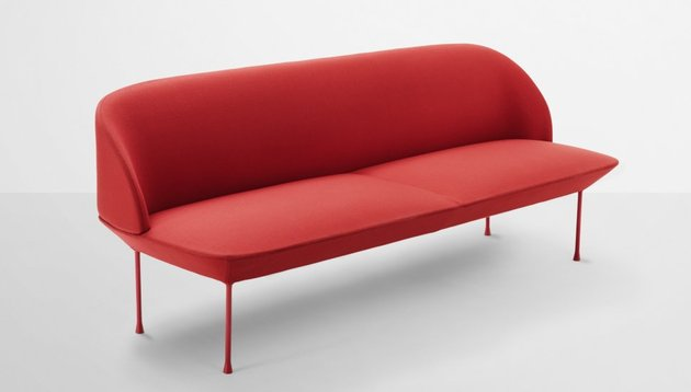 oslo series red couch thumb 630x358 14827 Sofa Collection Oslo by Muuto