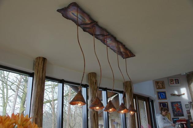 rustic copper lighting willem simonis 1 thumb 630x418 15953 Beautiful Rustic Copper Lighting by Dutch Designer Willem Simonis