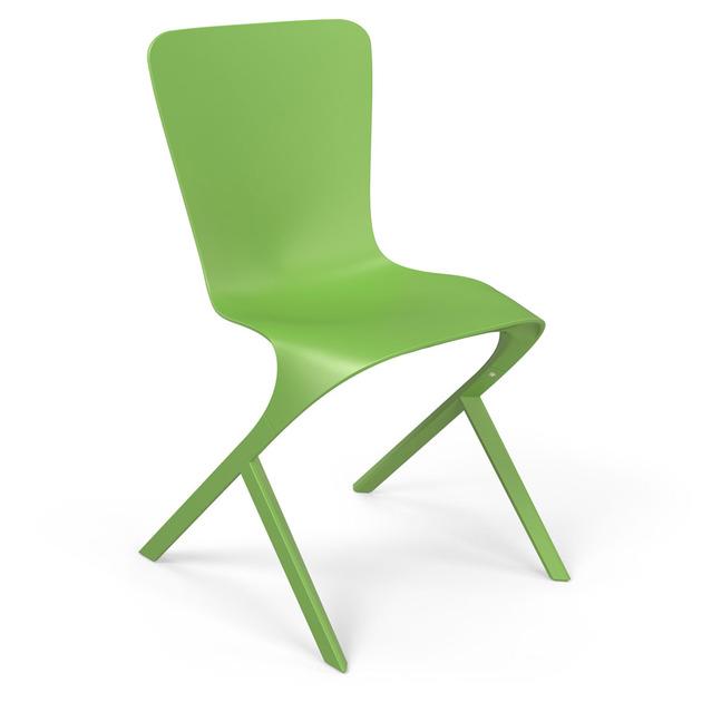 skin chair david adjaye knoll lime green thumb 630x630 14512 Skin and Skeleton Chairs by David Adjaye from Knoll