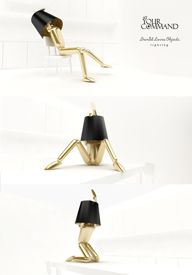 adjustable human sized lamps by daniel loves objects 2 thumb 630x900 18720 Adjustable Human sized Lamps by Daniel Loves Objects