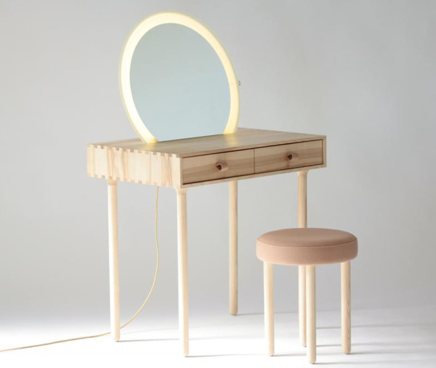 avignon dressing table set with lighting by codolagni 1 thumb 630x531 17983 Avignon Dressing Table Set with Lighting by Codolagni