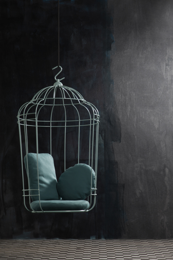 View In Gallery Cageling The Suspended Cage Chair From Ontwerpduo 7