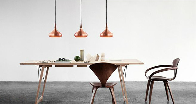 copper shade pendants by jo hammerborg 2 thumb 630x334 17997 Copper Shade Pendants by Jo Hammerborg
