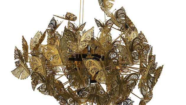 divine bronze butterfly chandelier by koket 2 thumb 630x357 18461 Divine Bronze Butterfly Chandelier by Koket