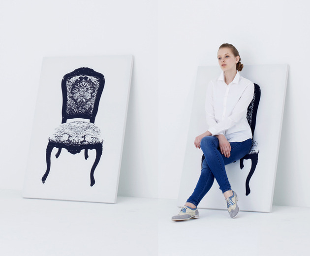 dual purpose art chair yoy 1 thumb 630x520 18223 Astonishing Dual Purpose Art   Canvas Chair by YOY Japan