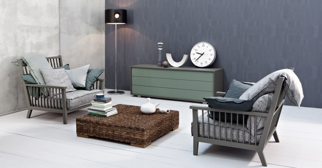gervasoni furniture collection gray by paola navone 2 thumb 630x328 20939 Gervasoni Furniture Collection Gray by Paola Navone   Casual Contemporary Scandinavian