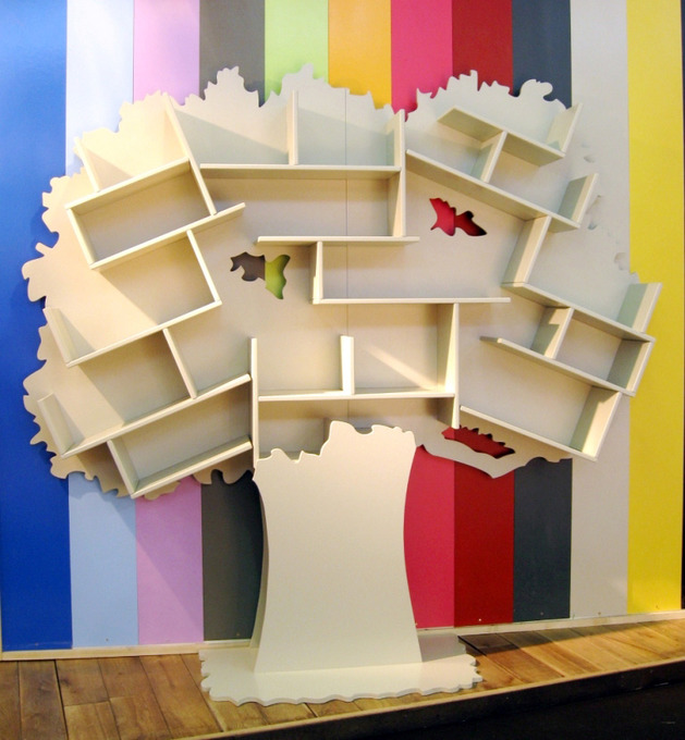 kids bookcase tree from mathy by bols 2 thumb 630x680 22196 Kids Bookcase Tree from Mathy by Bols
