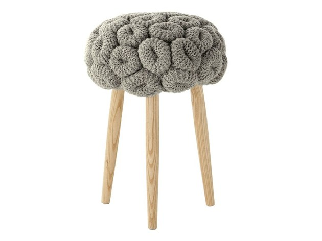 knitted wool stool by gan 2 thumb 630x472 21730 Knitted Wool Stool by Gan