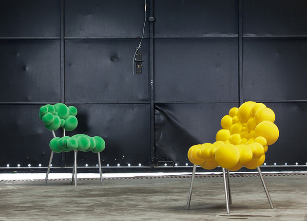 maarten de ceulaer mutation series furniture is one of a kind 2 thumb 630x454 20874 Maarten De Ceulaer Mutation Series Furniture is One of a Kind