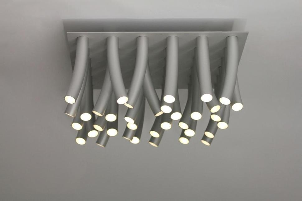 Modern aluminum led ceiling lamp aloadofball Image collections