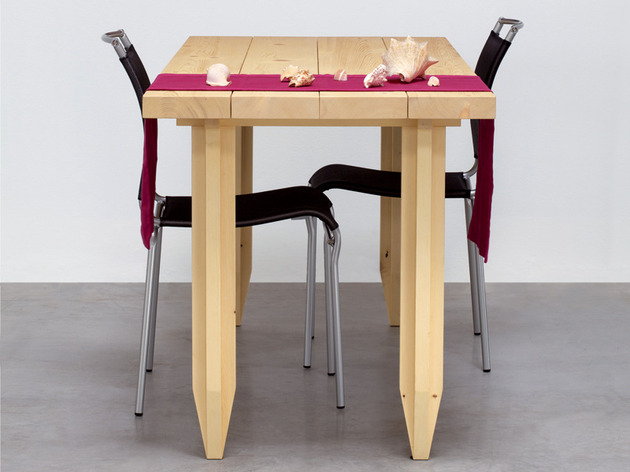 playful pencil table in solid wood by angelo micheli 1 thumb 630x472 21003 Playful Pencil Table in Solid Wood by Angelo Micheli